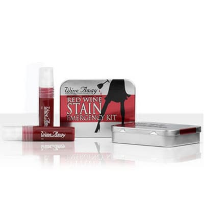Wine Away 66010CD Emergency Red Wine Stain Remover Kit