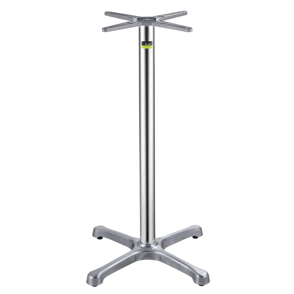 """Flat Tech CT1013 40.75"""" Bar Height Table Base for 26"""" Square & 30"""" Round Table Tops, Aluminum"""
