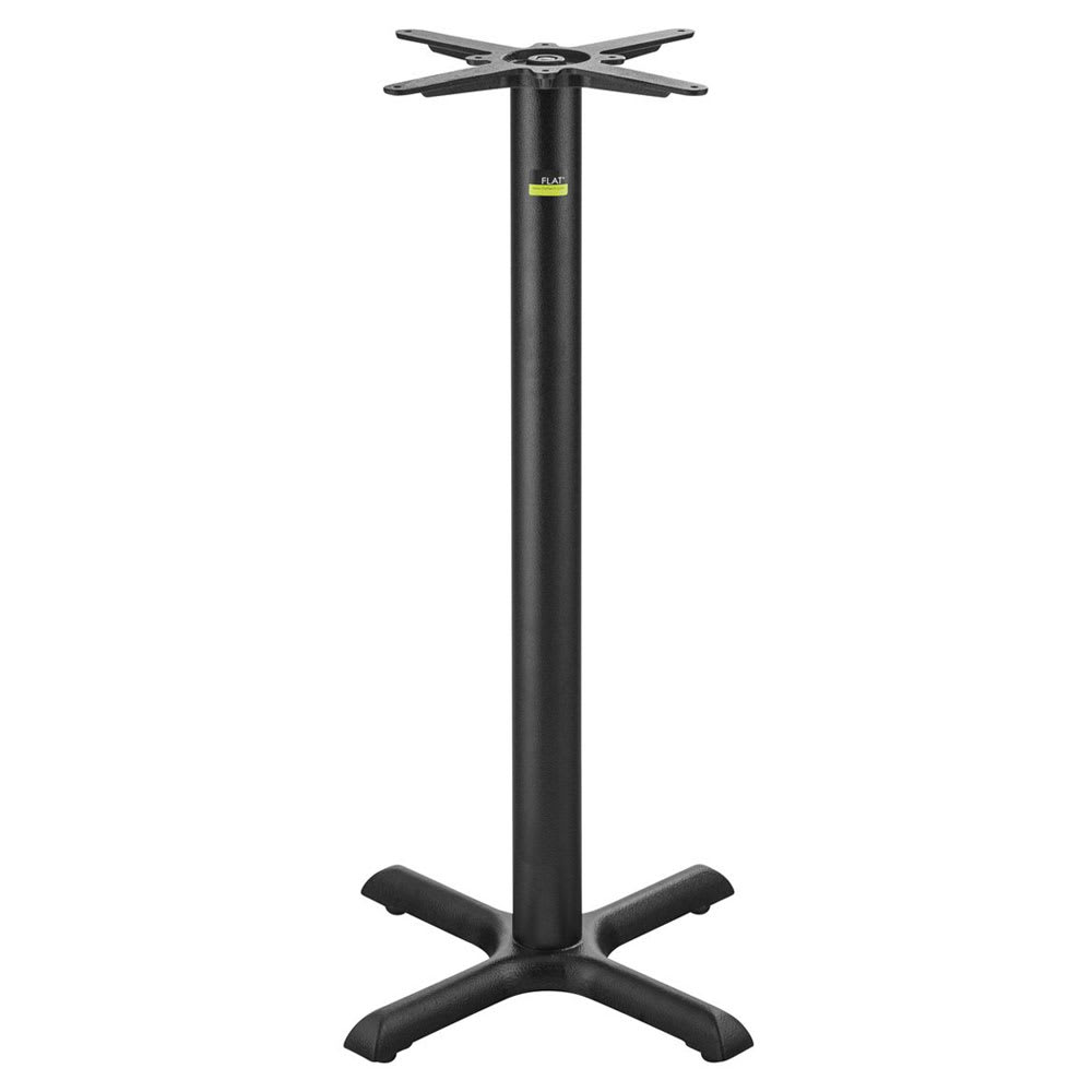"Flat Tech CT2017 40.75"" Bar Height Table Base for 24"" Square & 26"" Round Table Tops, Cast Iron"