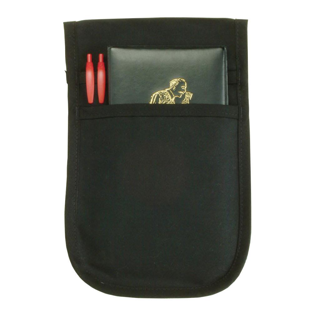 """Ritz CL2PSPOUCHBK-1 2 Pocket Pouch Apron - 7.5"""" x 12"""", Polyester, Black"""