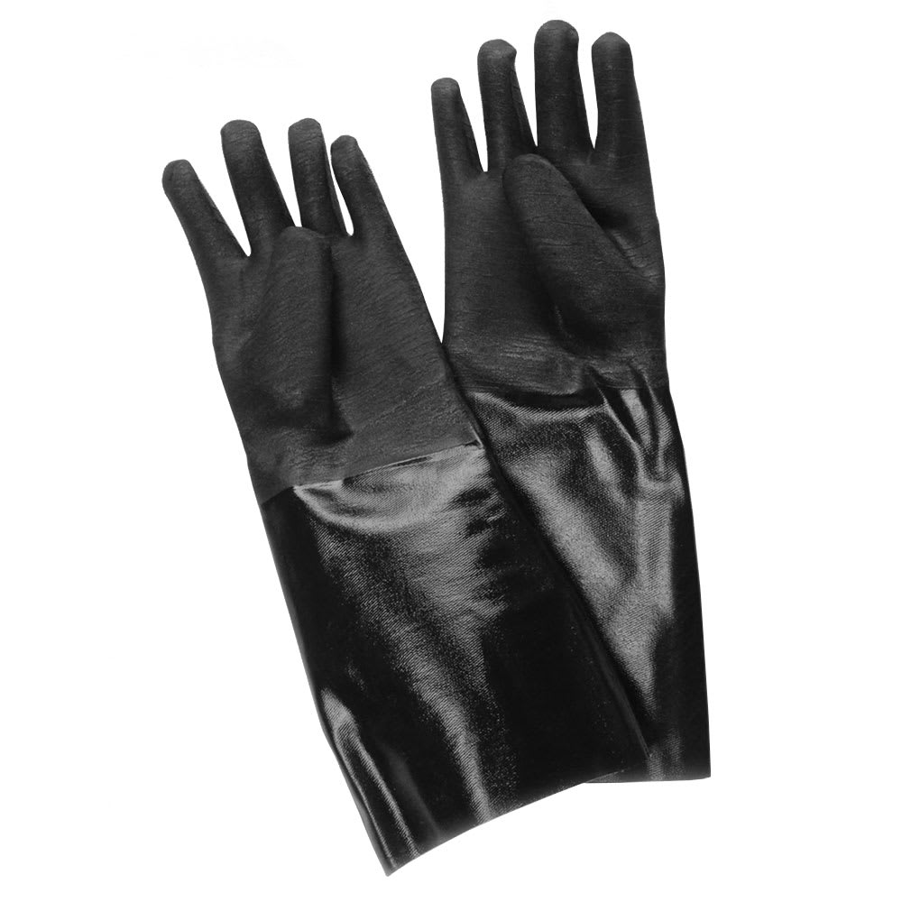 "Ritz CLGLN27BK-1 17"" Cleaning Glove - Neoprene, Black"