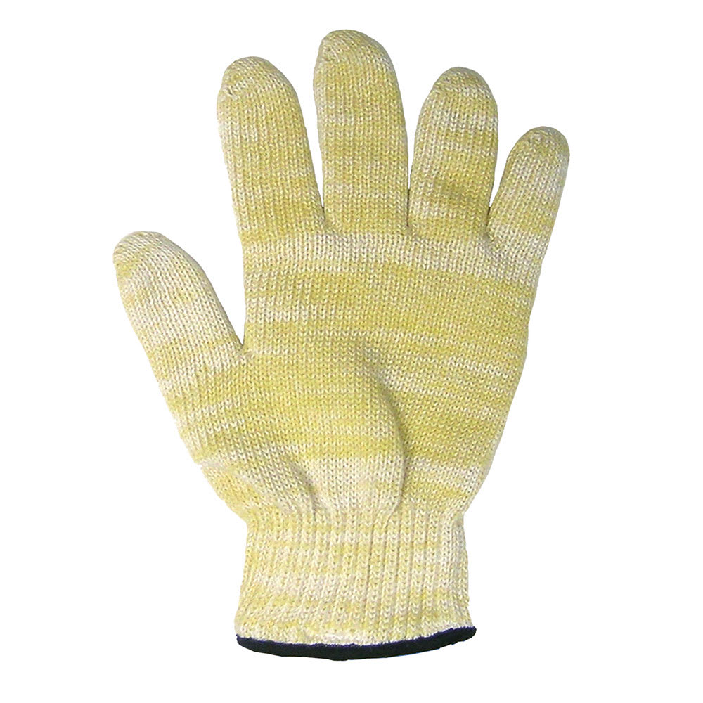 "Ritz CLGLOF20YL-1 10"" Oven/Freezer Glove w/ Cotton Lining - Nomex, Yellow"