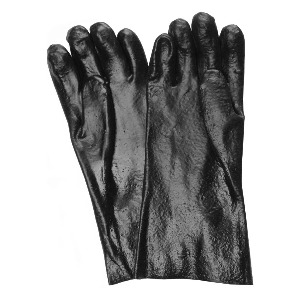 "Ritz CLGLR24BK-1 14"" Cleaning Glove - Rubber, Black"