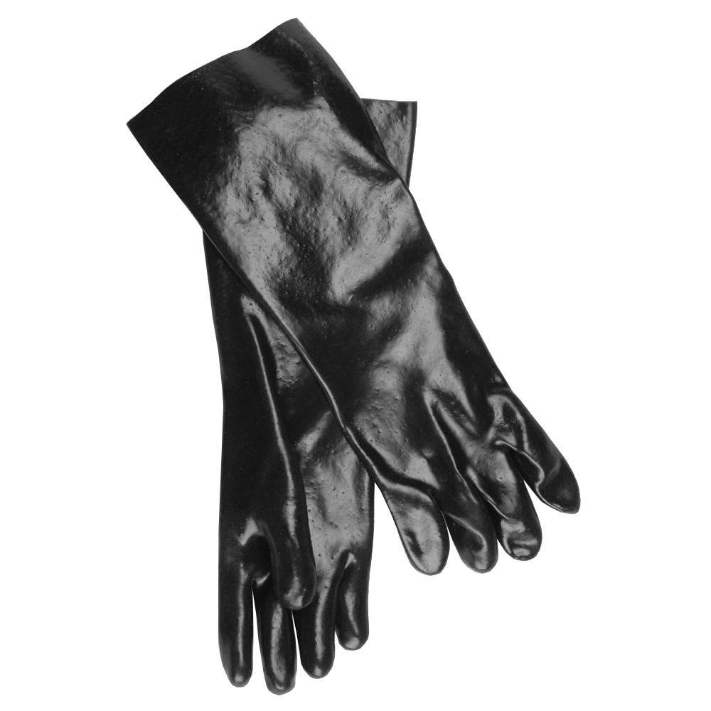 "Ritz CLGLR28BK-1 18"" Cleaning Glove - Rubber, Black"