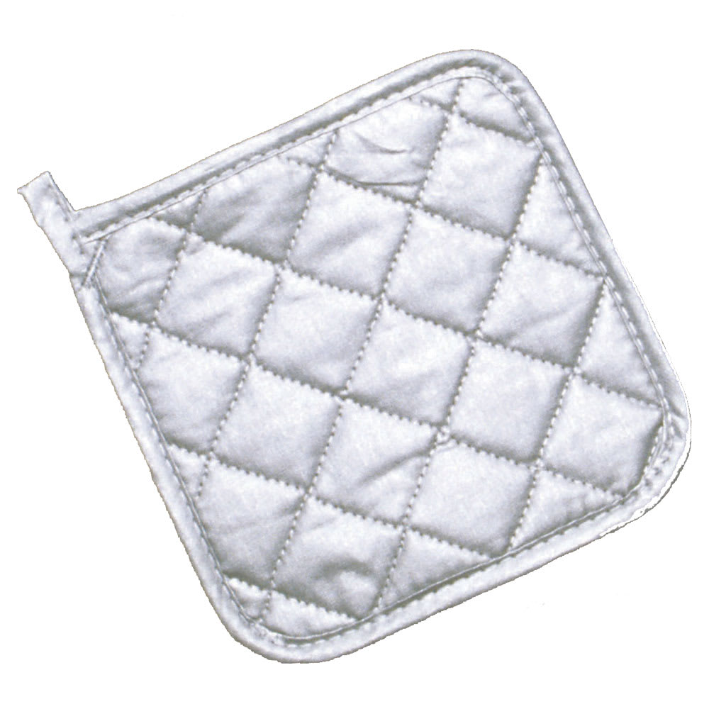 "Ritz CLPHS7SL-1 7"" Square Pot Holder - Silicone, Silver"
