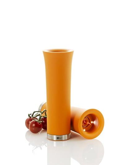 """Adhoc 78EP55 8"""" Electric Pepper Mill - Orange"""
