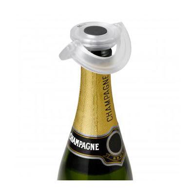 "Adhoc 78FV30 3.15"" Round Champagne Stopper - Plastic"