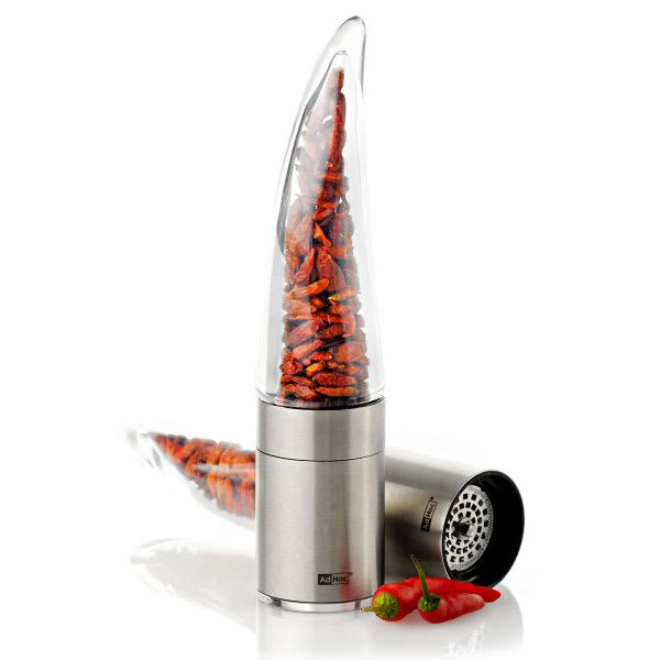 "Adhoc 78MP203 8"" Chili Mill, Pepe, Acrylic and Stainless"
