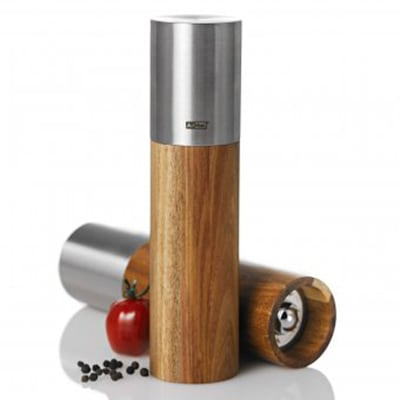 Adhoc 78MP85 Salt or Pepper Mill w/ Ceramic Grinder, Stainless