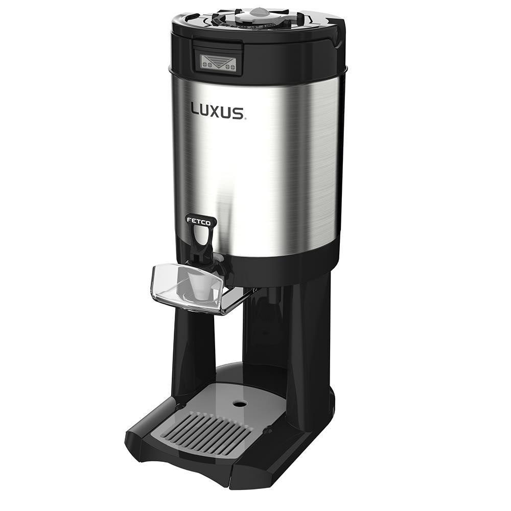 Fetco D449 1.5 gal LUXUS® Thermal Coffee Dispenser, Black/Stainless Steel