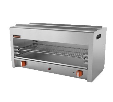 "Sierra Range SRCM-36 36"" Gas Cheese Melter w/ Infrared Burner, Stainless, NG"