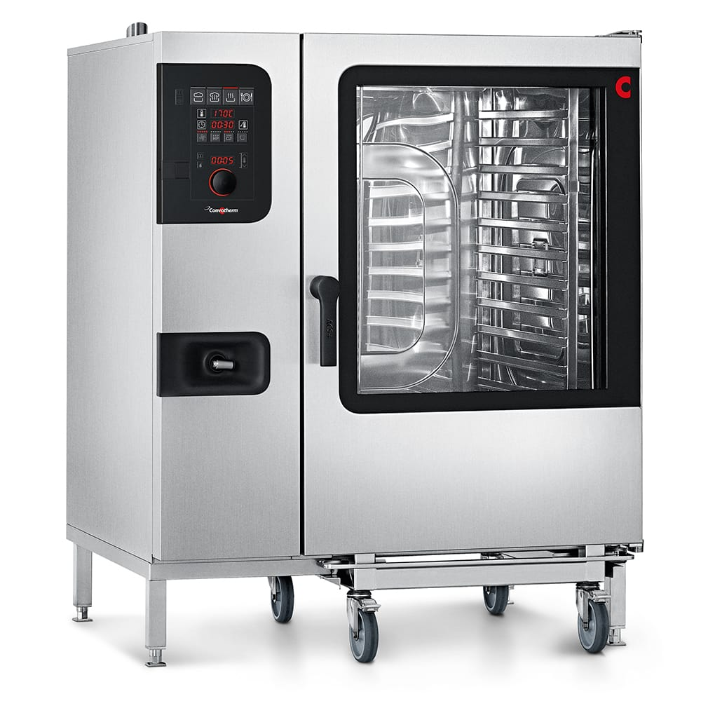 Convotherm C4 ED 12.20GB Full-Size Roll-In Combi-Oven, Boiler Based, LP