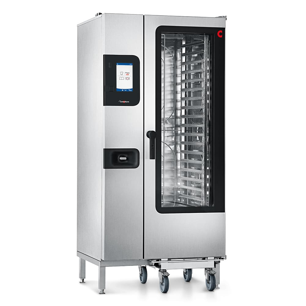 Convotherm C4 ET 20.10GB Half-Size Roll-In Combi-Oven, Boiler Based, NG