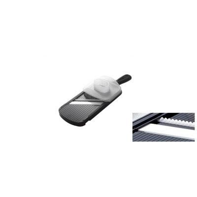 Kyocera CSN-182S NBK Wide Julienne Slicer w/ Guard & Ceramic Blade, Black