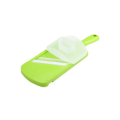 Kyocera CSN-182S NGR Wide Julienne Slicer w/ Guard & Ceramic Blade, Green