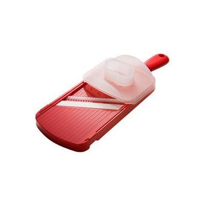 Kyocera CSN-182S NRD Wide Julienne Slicer w/ Guard & Ceramic Blade, Red