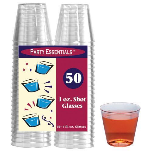 True Brands 1475 1-oz Shot Glasses, Plastic