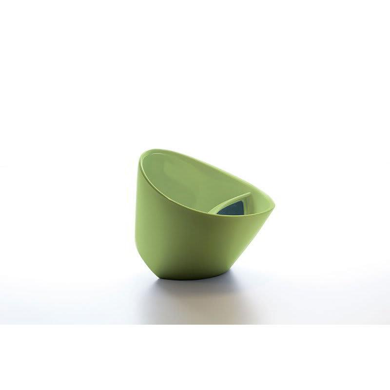 Magisso 70204 Tea cup w/ Built-In Filter Slot, Food Grade Plastic, Green