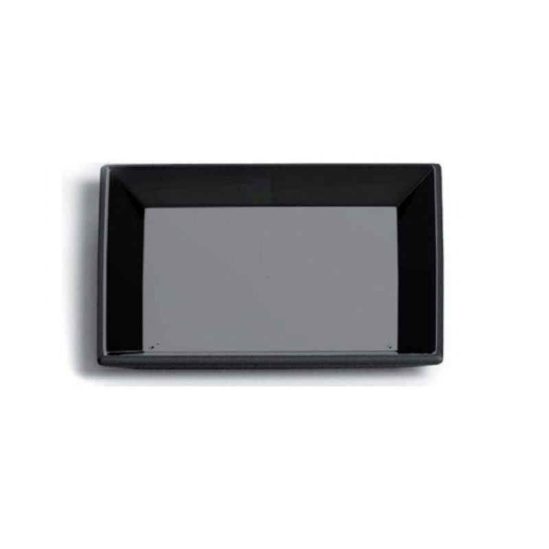 """Magisso 70620 5.5"""" Square Cooling Ceramic Small Serving Plate, Chalk"""