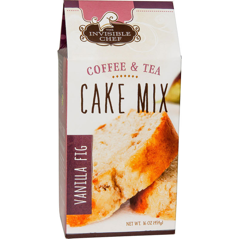 The Invisible Chef 1103 16-oz Coffee & Tea Cake Mix - Vanilla Fig