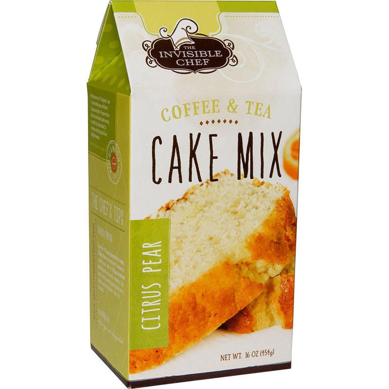The Invisible Chef 1134 16-oz Coffee & Tea Cake Mix - Citrus Pear
