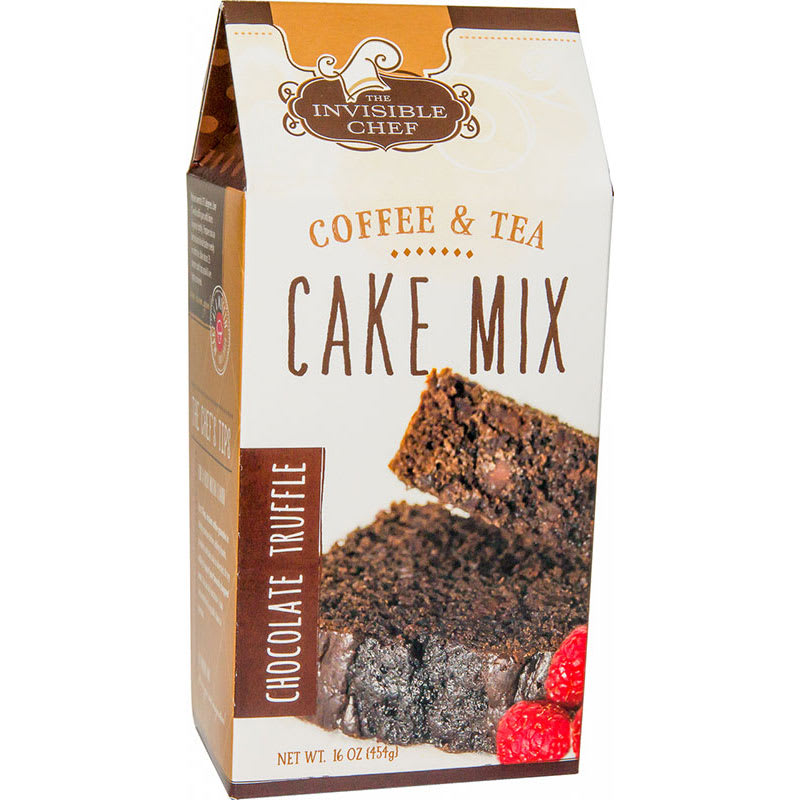 The Invisible Chef 1189 16-oz Coffee & Tea Cake Mix - Chocolate Truffle