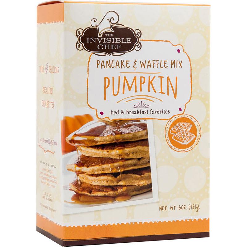 The Invisible Chef 1578 16-oz Pancake & Waffle Mix - Pumpkin