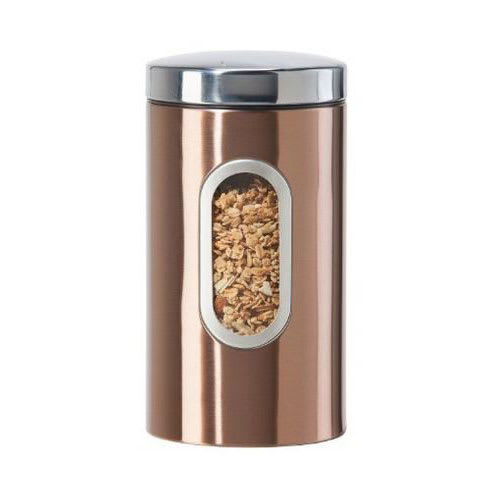Oggi 5603.12 64-oz Storage Canister w/ Lift-Off Lid, Coppertone Finish