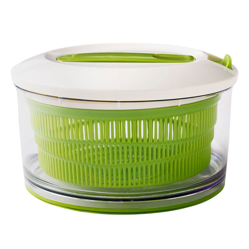 Chef'n 104-731-011 SpinCycle™ Large Salad Spinner w/ Removable Basket, Green