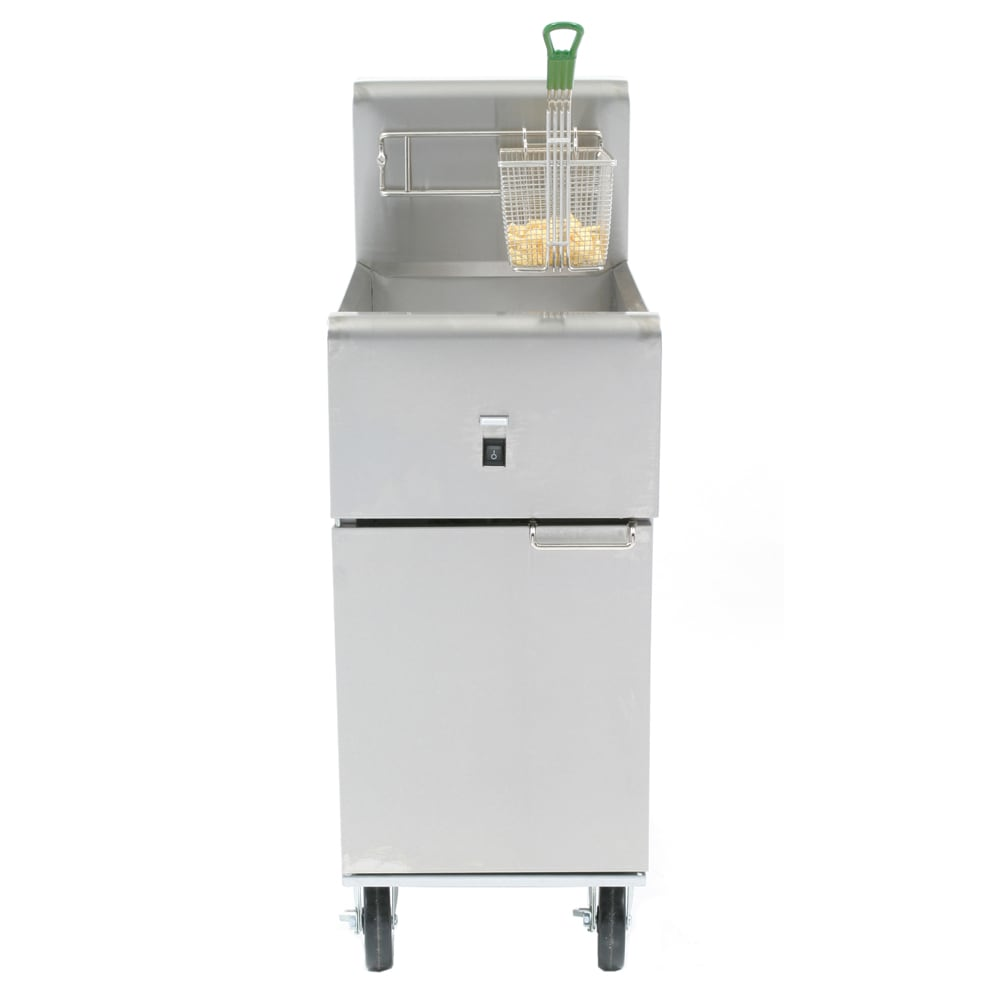 Dean SR114E Electric Fryer - (1) 40 lb. Vat, Floor Model, 240v/1ph