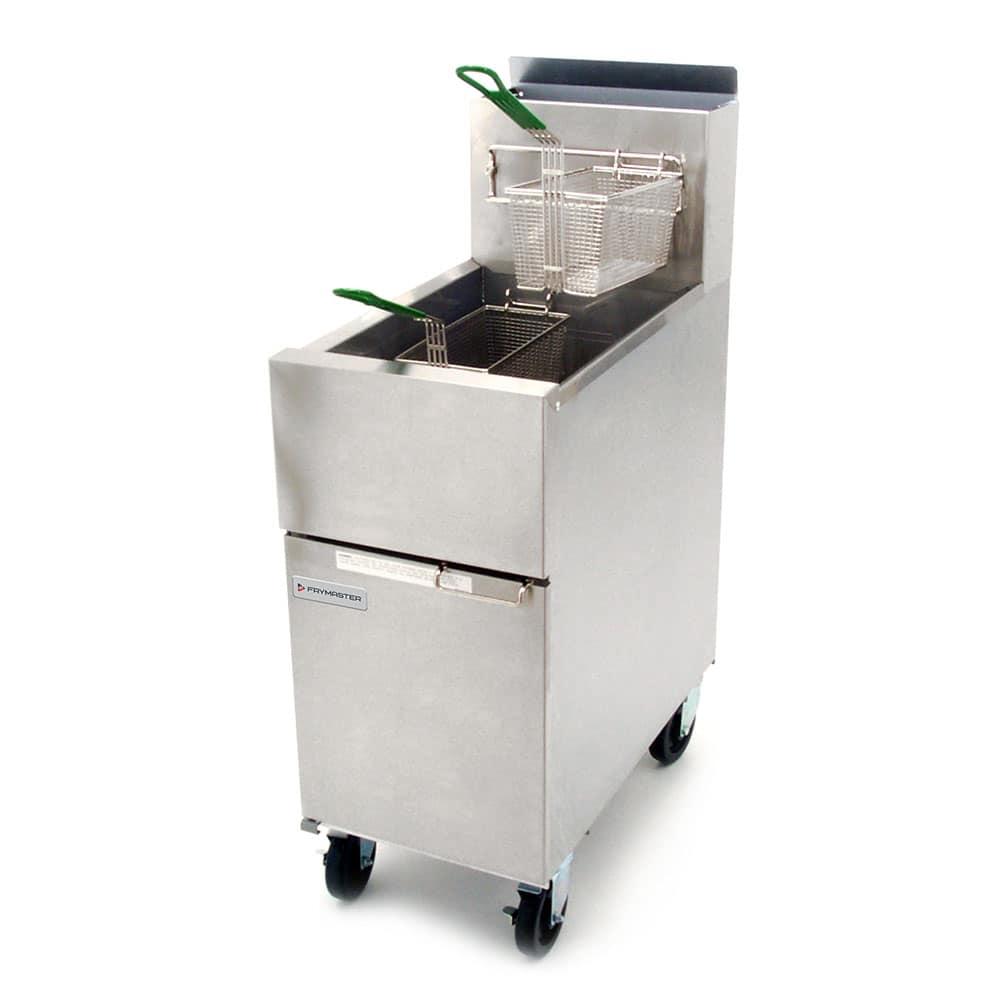 Dean SR42G Gas Fryer - (1) 43 lb Vat, Floor Model, NG