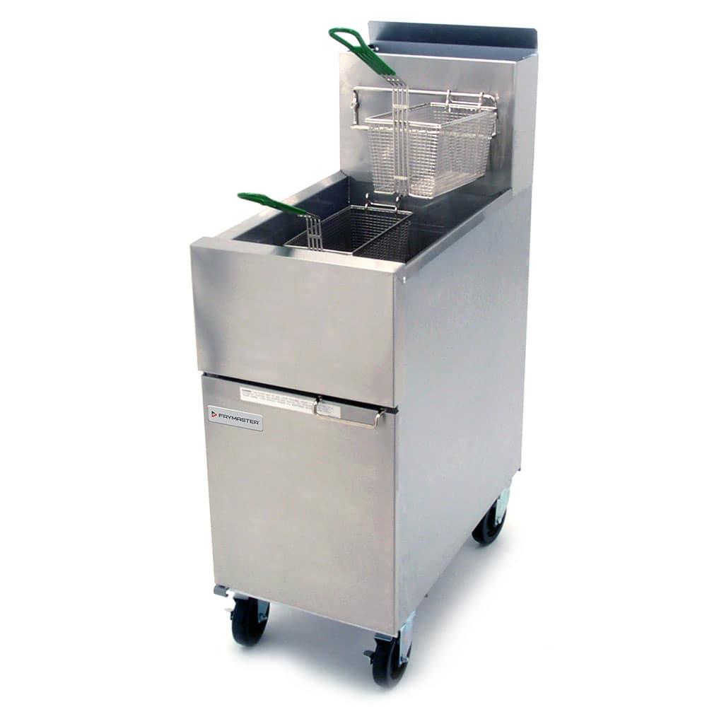 Dean SR52G Gas Fryer - (1) 50 lb Vat, Floor Model, NG