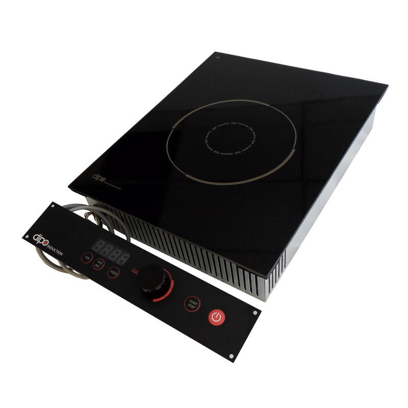 DIPO NBK118-A Drop-In Commercial Induction Cooktop w/ (1) Burner - 1,800 watts, 120v