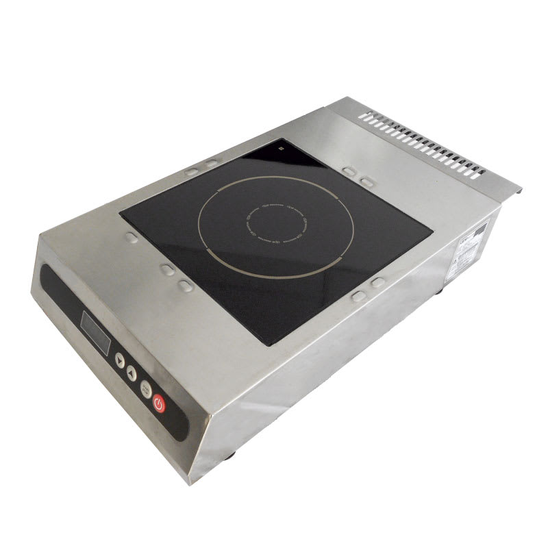 DIPO DPCK26-A Countertop Commercial Induction Cooktop w/ (1) Burner - 2,600 watts, 208-240v/1ph