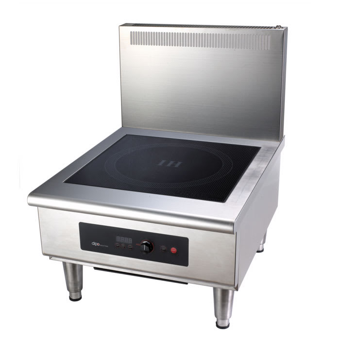 DIPO TCK112-A-FL Floor Model Commercial Induction Stock Pot Unit w/ (1) Burner - 10 kW, 208-240v/3ph