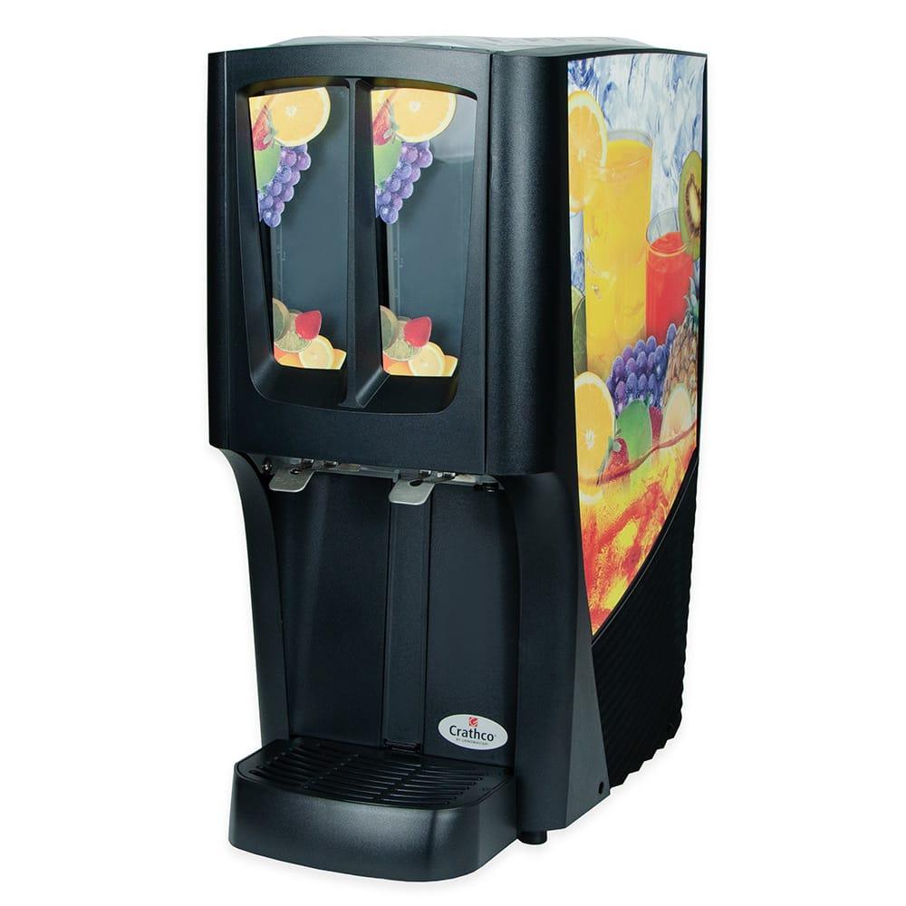 "Crathco C-2S-16 12.5"" G-Cool™ Pre-Mix Cold Beverage Dispenser w/ (2) 2.4 gal Bowls, 120v"