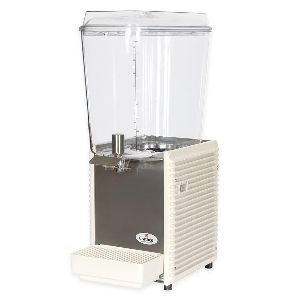 "Crathco D15-4 10"" Pre-Mix Cold Beverage Dispenser w/ 5-gal Bowl, 120v"