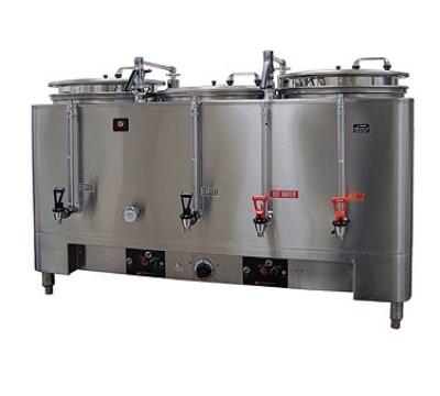Grindmaster 7303(E) Automatic Triple 3-gal Coffee Urn w/ Pump Style Brew, Single Wall 120/208/1 V