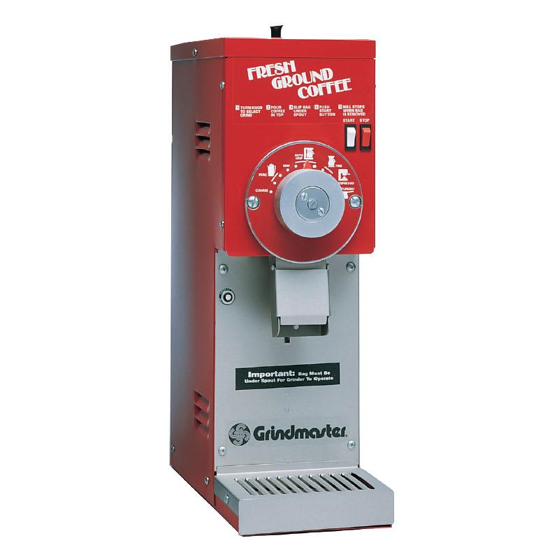 Grindmaster 835/RED Coffee Grinder w/ (1) 1.5-lb, Adjustable Grind Settings, 115v
