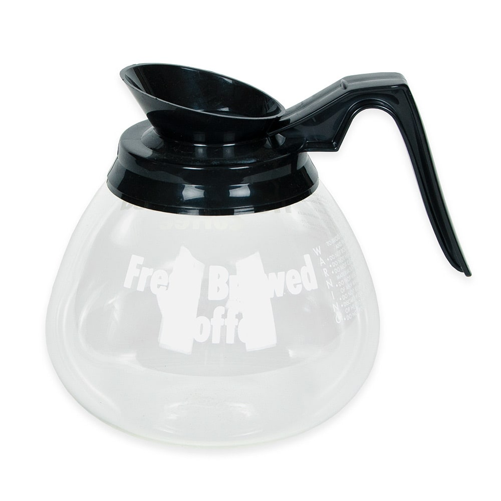 Grindmaster 98005 Glass Decanter, 3 Pack, Black
