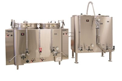 Grindmaster AMV-80(E) 120208 80 gallon Banquet Brewing System AMW Coffee Urn, Pump Type, 120/208