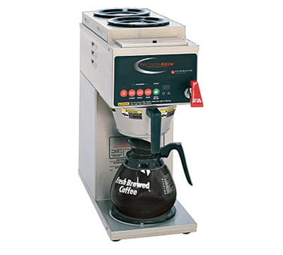 Grindmaster B-3 Automatic Coffee Brewer, 2-Upper/1-Lower Warmers, 120 V