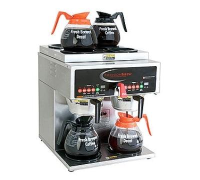 Grindmaster B-6 Dual Coffee Brewer w/ (4) Lower & (2) Upper Warmers, Fresh Brew, 120/208v/1ph