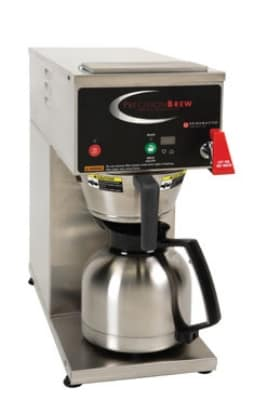 Grindmaster B-ID Single Coffee Brewer for 1.9L Decanter - Automatic, Pour Over, 240v/1ph