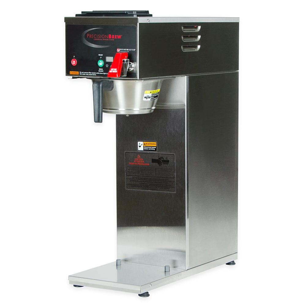 Grindmaster B-SAP Single Coffee Brewer for 2.5L Airpot - Automatic, Fresh Brew, 120v