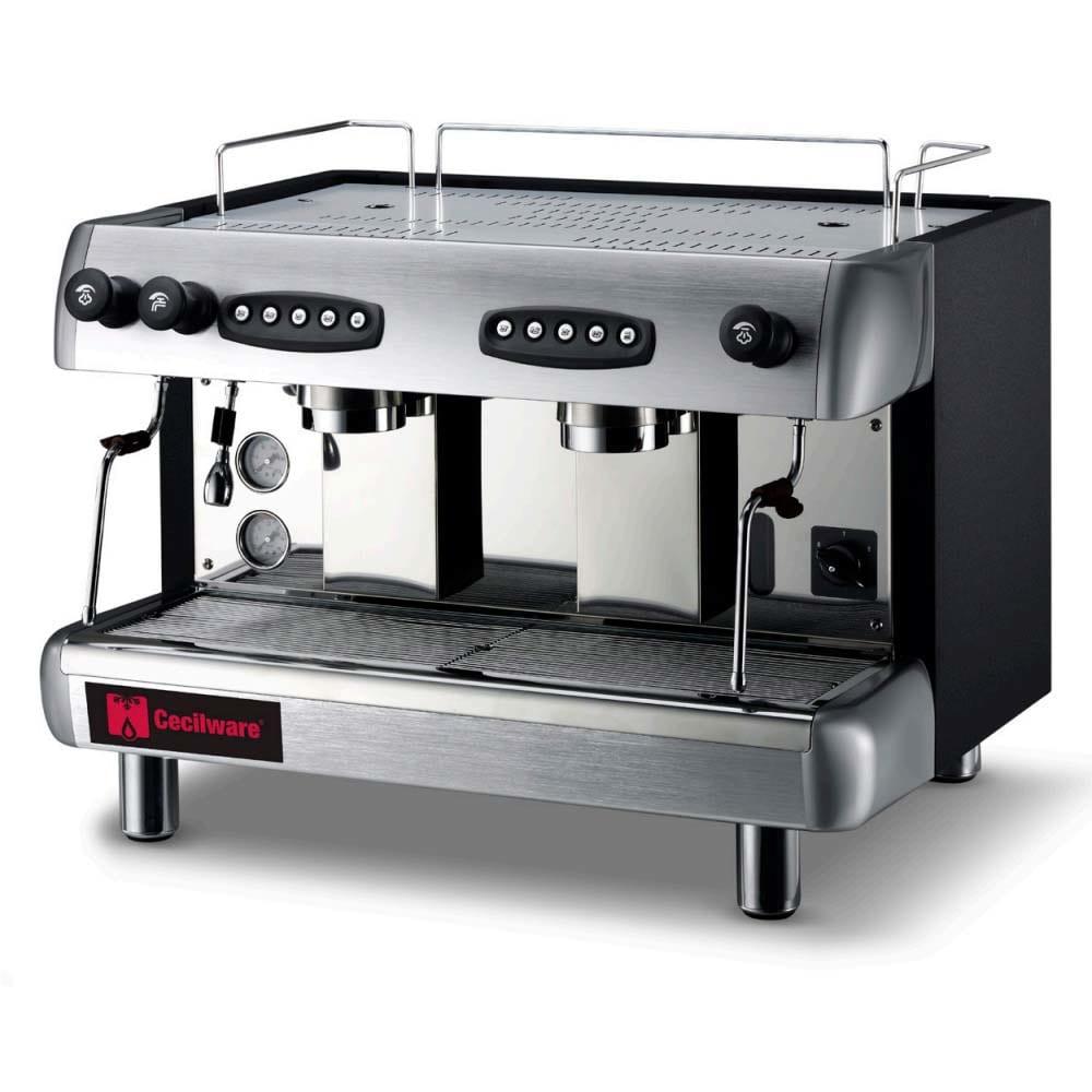 Grindmaster CS2-220 Semi-Automatic Espresso Machine w/ (2) Groups - 3.25 gal Boiler, 220/40v/1ph