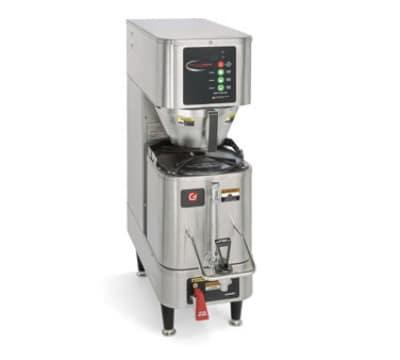 Grindmaster PB-330 Single Coffee Brewer w/ 1.5-gal Shuttle, Digital Control, 208v/1ph