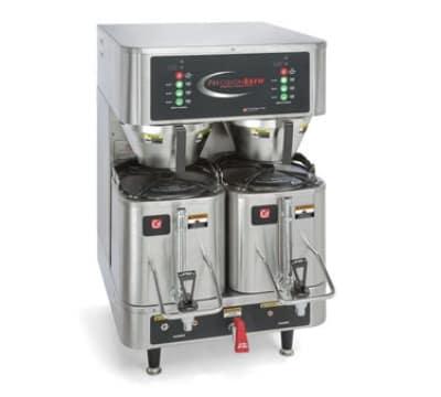Grindmaster PB-430 Dual Coffee Brewer w/ (2) 1.5-gal Shuttle, Digital Control, 120/240v/1ph