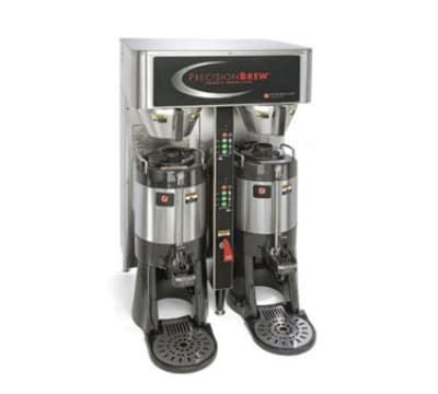 Grindmaster PBIC-430 Dual Coffee Brewer w/ (2) 1.5 gal Shuttle, Digital Control, 120/208v/1ph