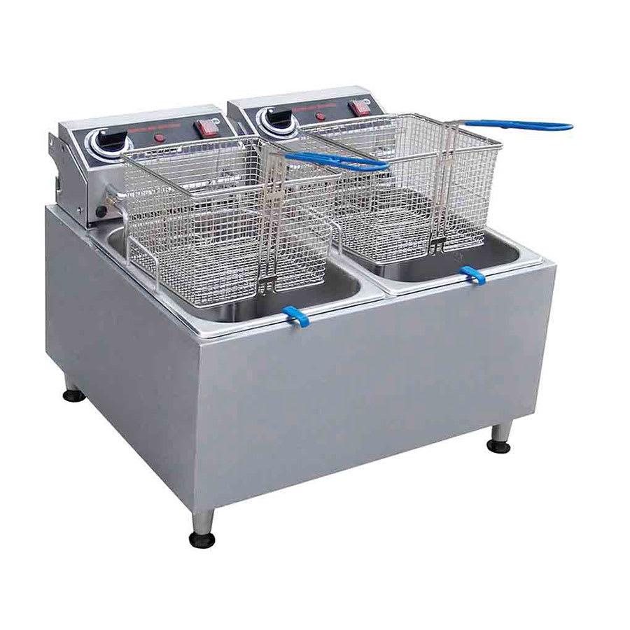 Centaur ABF32 Countertop Electric Fryer - (2) 16 lb Vat, 208 240v/1ph